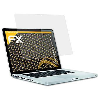 atFoliX Glass Protector compatible with Apple MacBook Pro 15,4 WXGA 9H Hybrid-Glass