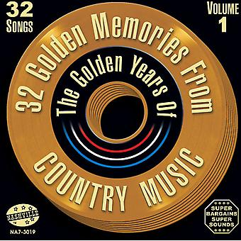 32 Golden Memories From Country Music - Vol. 1-32 Golden Memories From Country Music [CD] USA import