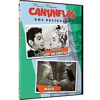 Cantinflas: Soy Un Profugo/El Mago [DVD] USA import
