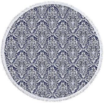 オリエンタル ブルー ビーチ タオル