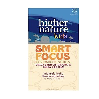 Higher Nature Smart Focus for Kids Chewable Jellies 27 (KSF027)