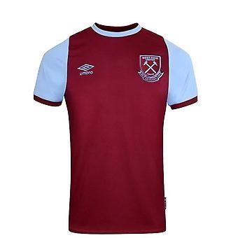 Umbro West Ham United Home Shirt | Claret | 2020/21 | Junior