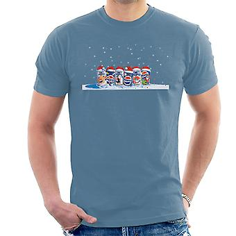 Pepsi Retro 90s Christmas Cans Men's T-Shirt
