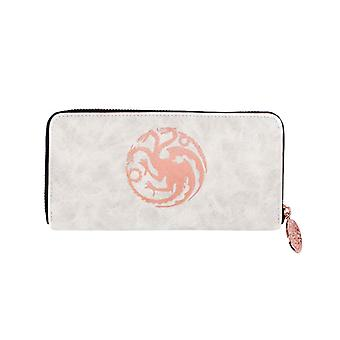 Game of Thrones Purse Khaleesi Targaryen Sigil nya officiella Zip dra