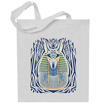 Egyptian Anubis Head Portrait Totebag
