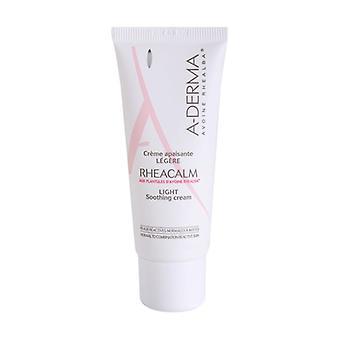 A-derma Rheacalm كريم الخفيفة + العين كفاف حزمة 40 مل من كريم