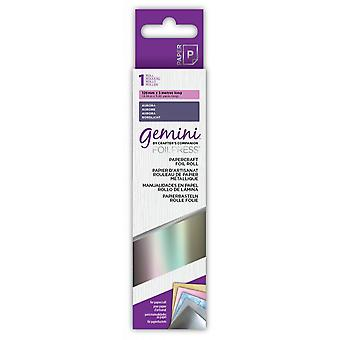 Gemini Papercraft Foil Aurora