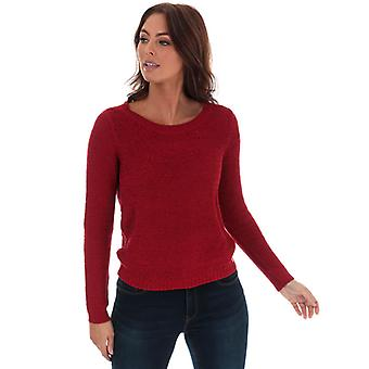 Women's Only Geena Jumper in Red