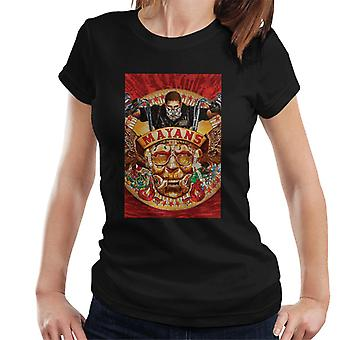 Mayans M.C. Motorcycle Club George Yepes Poster Artwork Women's T-Shirt