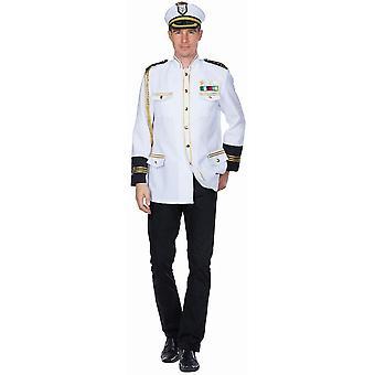 Captain Jacket Męski statek Kapitan Kostium KarnawałOwy Uniform