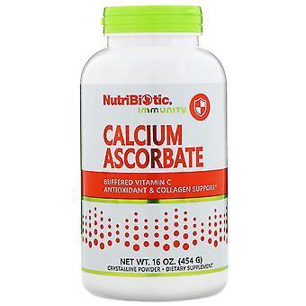 NutriBiotic, Immuniteit, Calcium Ascorbaat, Kristallijn poeder, 16 oz (454 g)