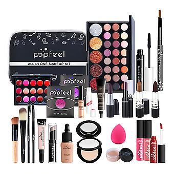 All In One Makeup Kosmetiikka Kit Meikki