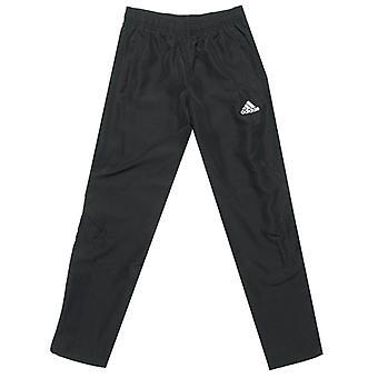 Boy's adidas Junior Tiro 17 Gewebte Hose in schwarz