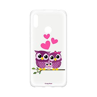 Hull For Huawei Y6s Soft Owl Family