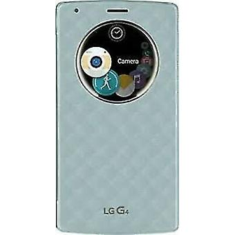 LG Quick Circle Snap-On Folio Fall für LG G4 - Aqua Blue
