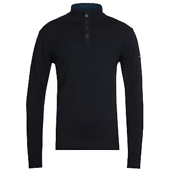 Armor Lux Pull Camionneur Black Sweater