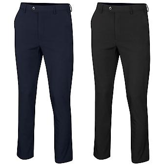 Glenmuir Mens Ashurst Water Repellent Moisture Wicking Lined Golf Trousers