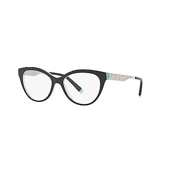 Tiffany TF2180 8274 Zwart-Kristal blauwe bril