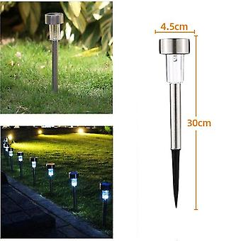 Stainless  Steel Waterproof  Solar Lamp For Garden Lawn
