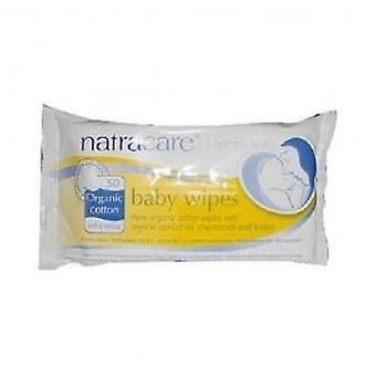 Natracare - Organic Baby Wipes 50wipes