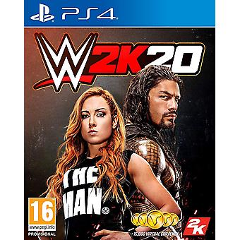 WWE 2K20 PS4-game