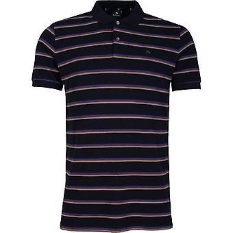 Camicia Polo Paul Smith Multi Stripe Pique
