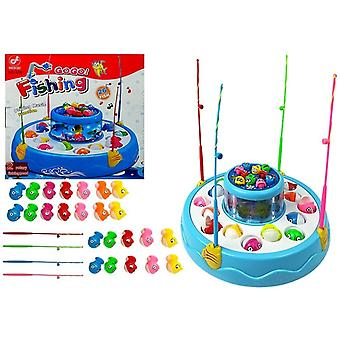 Go Go Fishing Game Magnetic Fish 2 Pounds 26 Fish Blue