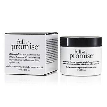 Full Of Promise Dual-Action Restoring Cream For Volume & Lift 60ml or 2oz