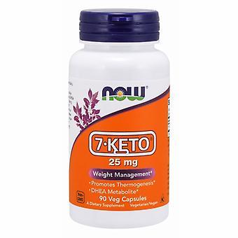 Now Foods 7-Keto, 25 mg, 90 Kapseln