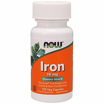 Agora Foods Iron, 18 mgs, 120 Vcaps