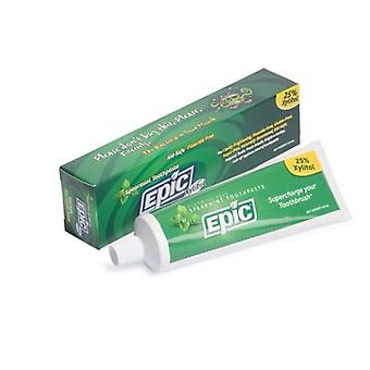 Epic Dental Fluoride & Xylitol Toothpaste, Spearmint 4.9 oz