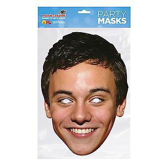 Máscara-arade Tom Daley Máscara de fiesta