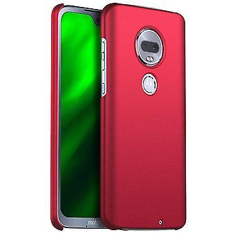 Anti-impact Hard case voor Motorola G7 Red kaiqimi-579