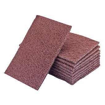Flexipads FLE34005 34005 Non-woven Hand Pad Maroon Standard Very Fine x 10