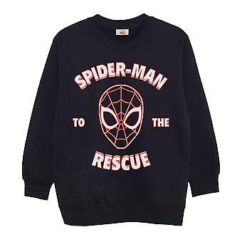 Oficjalna bluza dziecięca Marvel Spiderman to the rescue boys girls jumper