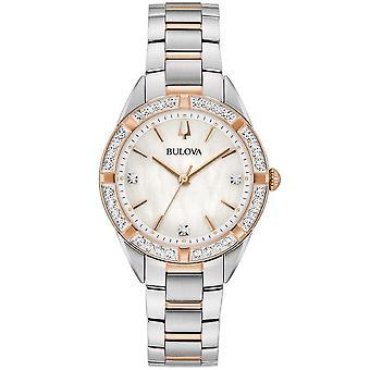 Bulova - Armbåndsur - Kvinder - KLASSISK - 98R281