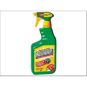 Roundup Fast Acting Weedkiller Ready to Use 1L
