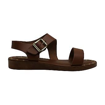 Bella Vita Womens Leather Open Toe SlingBack Slingback Flats
