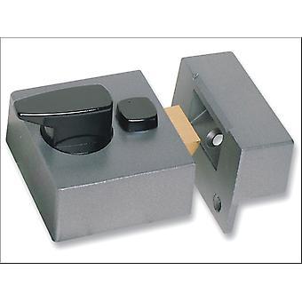 Sterling (Padlocks) Narrow Deadlock Nightlatch Grey NLG201