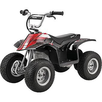 Razor quad bike 24 volt 4 wheeler with pneumatic knobby tires for ages 8 years