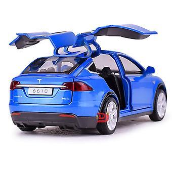 Tesla Car Alloy Car Diecasts & Vehicles Toy