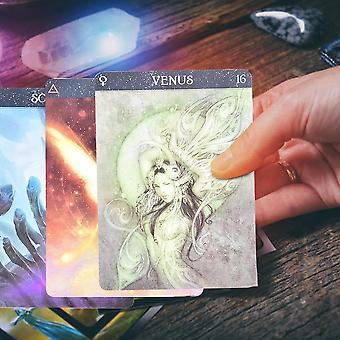 Oracle Tarot Fate Wróżenie Card Board Game Karty Do gry Portable Party