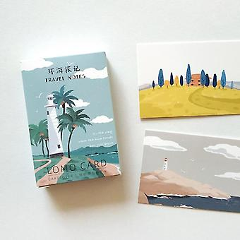 Creative And Hand Painted Travel Notes Lomo Card