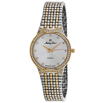 Mathey Tissot Mujer's Classic Silver Dial Watch - D2681BI