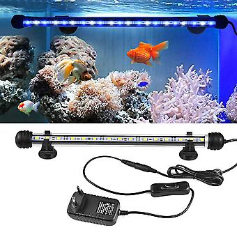 Wasserdichte LED Fisch Tank Licht Aquarium Lichter Tauchboot Unterwasser Clip Lampe Aquatic Decor EU/US Adapter