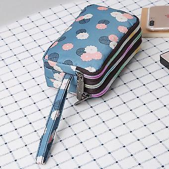 kvinner mini lommebok glidelås kortholder mynt, vesken liten skinn clutch bag,