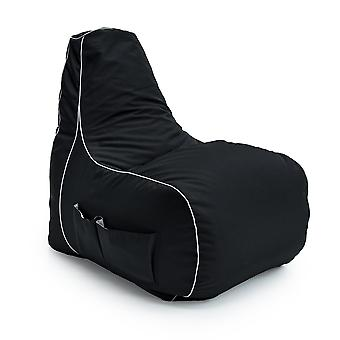 Purifying Code Loft 25� 'Game Over' Gaming High Back Chair Bean Bag with footstool