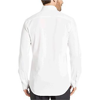 Merk - BUTTONED DOWN Men's Slim Fit Stretch Knit Dress Shirt, Supima Katoen, Button-Collar