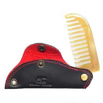 Leather Folding Beard Comb