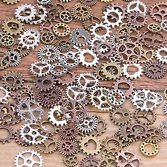 Misture Alloy Mechanical Steampunk Cogs & Gears Diy Charms